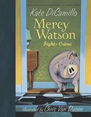 Cover art for MERCY WATSON FIGHTS CRIME