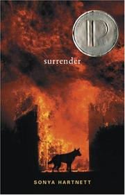 SURRENDER by Sonya Hartnett