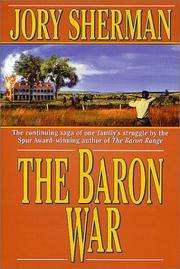 THE BARON WAR by Jory Sherman