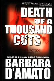 Cover art for DEATH OF A THOUSAND CUTS