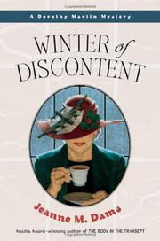 WINTER OF DISCONTENT by Jeanne M. Dams