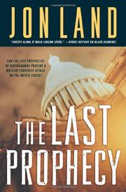 Cover art for THE LAST PROPHECY