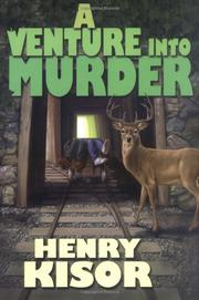 Cover art for A VENTURE INTO MURDER