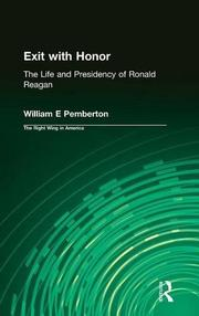 EXIT WITH HONOR by William E. Pemberton