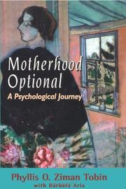 MOTHERHOOD OPTIONAL by Phillis O. Ziman Tobin