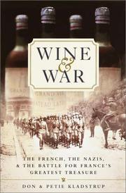 WINE & WAR by Don Kladstrup
