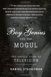 THE BOY GENIUS AND THE MOGUL by Daniel Stashower