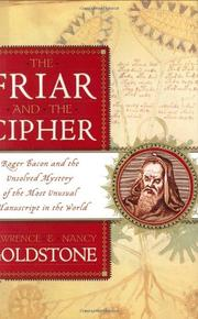 Cover art for THE FRIAR AND THE CIPHER