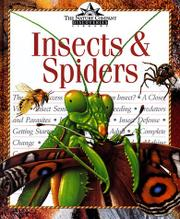 INSECTS & SPIDERS by David Burnie
