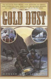 GOLD DUST by Donald Dale Jackson
