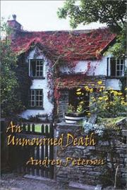 AN UNMOURNED DEATH by Audrey Peterson