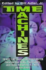 TIME MACHINES by Jr. Adler