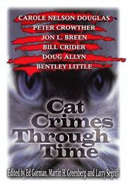CAT CRIMES THROUGH TIME by Ed Gorman