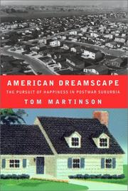 AMERICAN DREAMSCAPE by Tom Martinson