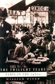 Cover art for THE TWILIGHT YEARS