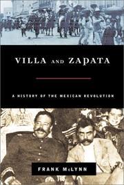 VILLA AND ZAPATA by Frank McLynn