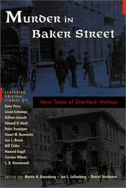 Cover art for MURDER IN BAKER STREET