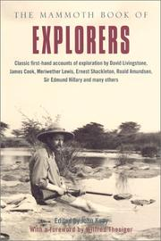 THE MAMMOTH BOOK OF EXPLORERS by John Keay