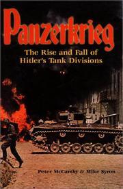 PANZERKREIG by Peter McCarthy