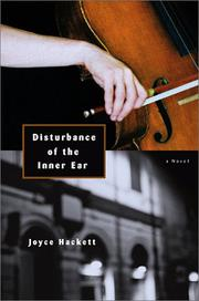DISTURBANCE OF THE INNER EAR by Joyce Hackett