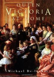 QUEEN VICTORIA AT HOME by Michael De-la-Noy
