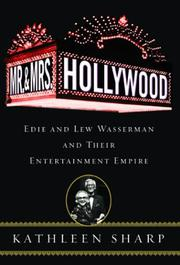 MR. AND MRS. HOLLYWOOD by Kathleen Sharp