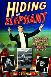 HIDING THE ELEPHANT by Jim Steinmeyer