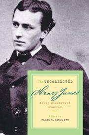 Book Cover for THE UNCOLLECTED HENRY JAMES