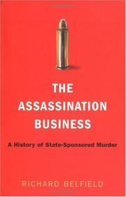 THE ASSASSINATION BUSINESS by Richard Belfield