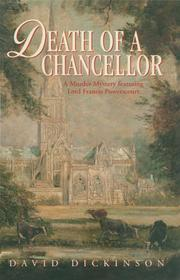 DEATH OF A CHANCELLOR by David Dickinson