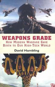 WEAPONS GRADE by David Hambling