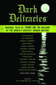 Cover art for DARK DELICACIES