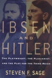 IBSEN AND HITLER by Steven F. Sage