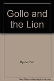 GOLLO AND THE LION by Eric Oyono