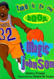 Cover art for TAKE IT TO THE HOOP, MAGIC JOHNSON
