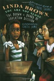 LINDA BROWN, YOU ARE NOT ALONE by Joyce Carol Thomas