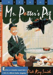 MR. POTTER'S PET by Dick King-Smith