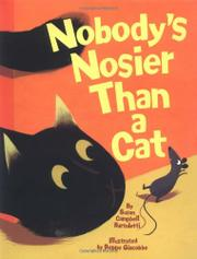 Cover art for NOBODY'S NOSIER THAN A CAT