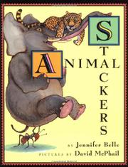 ANIMAL STACKERS by Jennifer Belle