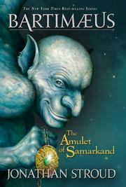 Cover art for THE AMULET OF SAMARKAND