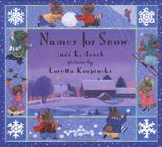 NAMES FOR SNOW by Judi K. Beach