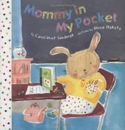 MOMMY IN MY POCKET by Carol Hunt Senderak