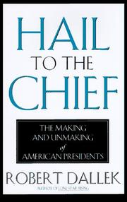 Cover art for HAIL TO THE CHIEF