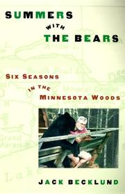 SUMMERS WITH THE BEARS by Jack Becklund