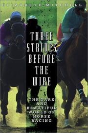 THREE STRIDES BEFORE THE WIRE by Elizabeth Mitchell