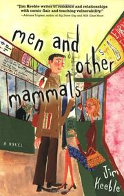 MEN AND OTHER MAMMALS by Jim Keeble