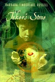 THE TAKER'S STONE by Barbara Timberlake Russell