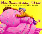 MRS. PICCOLO'S EASY CHAIR by Jean Jackson