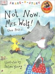 Cover art for NOT NOW, MRS. WOLF!