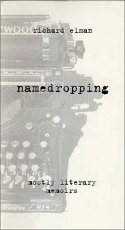 NAMEDROPPING by Richard Elman